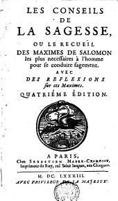 Les conseils de la Sagesse ou le recueil des maximes de Salomon