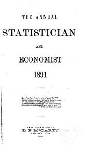 The Annual Statistician and Economist: Volume 15