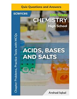 Acids  Bases and Salts Quiz Questions and Answers Book