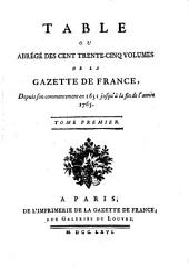 Gazette de France: Volume1
