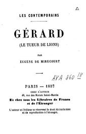 Gérard: le tueur de lions