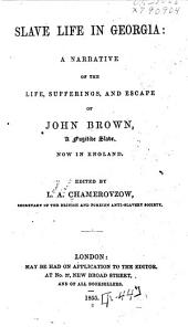 Slave Life in Georgia: A Narrative of the Life, Sufferings, and Escape of John Brown, a Fugitive Slave, Now in England