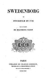 Swedenborg, ou Stockholm en 1756