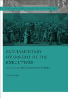Parliamentary Oversight of the Executives PDF