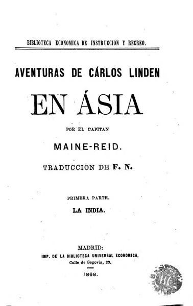 Aventuras De Carlos Linden En Asia