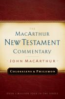 Colossians and Philemon MacArthur New Testament Commentary PDF