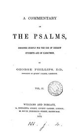 A commentary on the Psalms: Volume 2