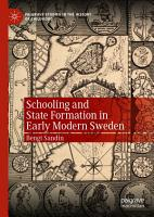 Schooling and State Formation in Early Modern Sweden PDF