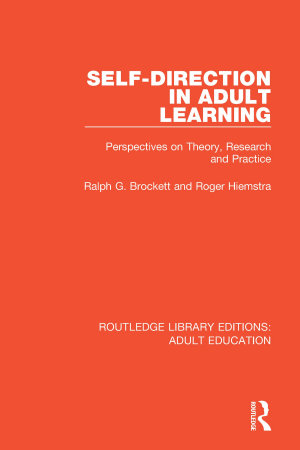 Self direction in Adult Learning PDF