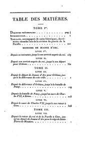 Histoire de Jeanne d'Arc: surnommée la Pucelle d'Orléans, Volume4