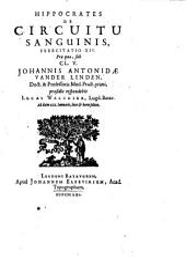 Hippocrates De circuitu sanguinis exercitatio XIV.