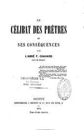 Le célibat des prêtres et ses conséquences