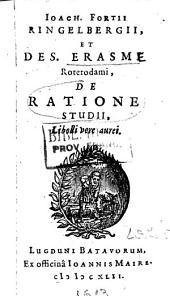 De ratione studii