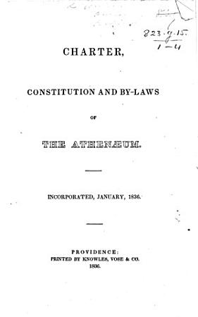 Charter  constitution  and by laws of the Athen  um PDF