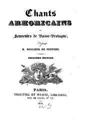 Chants Armoricains: ou souvenirs de Basse-Bretagne