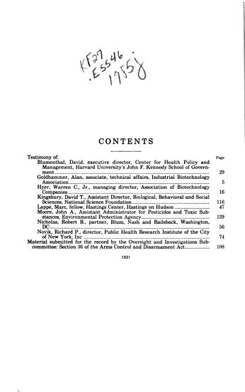 Biotechnology Development PDF