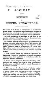 Society for the Diffusion of Useful Knowledge