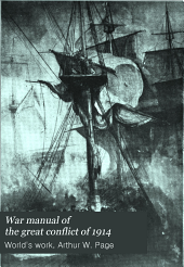 War Manual of the Great Conflict of 1914