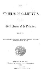 Statutes of California