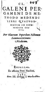De methodo medendi libri XIV
