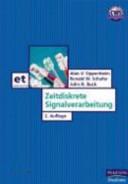 Zeitdiskrete Signalverarbeitung PDF