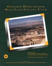 Geological Resources of Salt Lake County, Utah