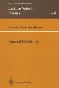 Special Relativity PDF