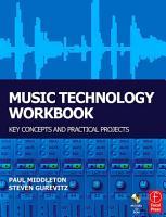Music Technology Workbook PDF