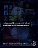 Behavioral Evidence Analysis