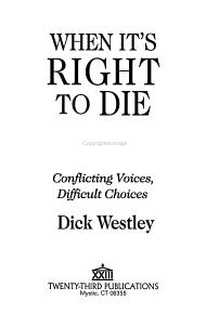 When It s Right to Die PDF
