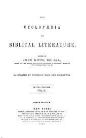 A Cyclopaedia of Biblical Literature