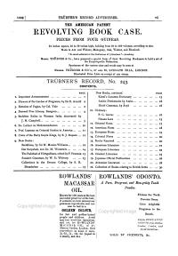 Trubner s American and Oriental Literary Record PDF