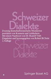 Schweizer Dialekte: Ausgabe 2