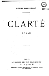 Clarté: Roman