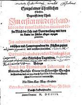 Spiegel eines christlichen Fürsten: begreifft drey Theil