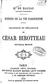 Grandeur et décadence de César Birotteau