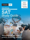 Official SAT Study Guide 2020 Edition Book
