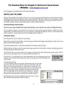Douglas McCarron   Kwajalien Game Book