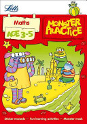 Letts Monster Practice - Maths Age 3-5