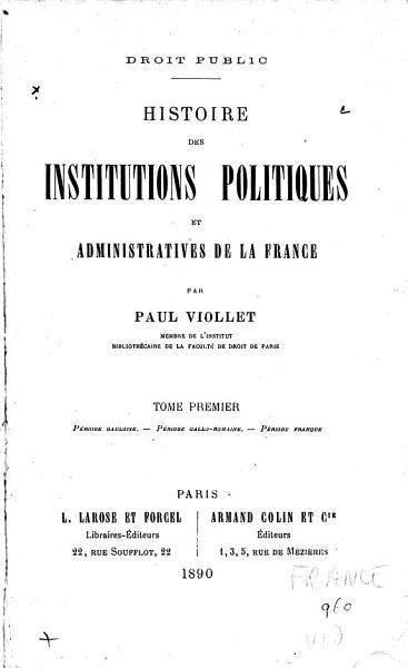 Download Droit Public Book