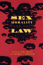 Sex  Morality  and the Law PDF