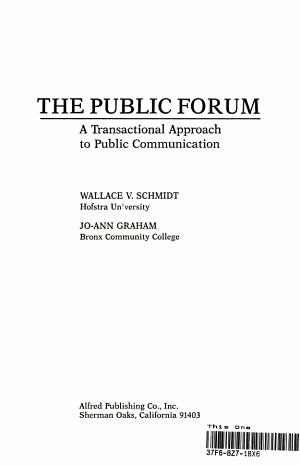 The Public Forum
