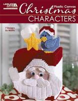 Christmas Characters In Plastic Canvas Leisure Arts 5829