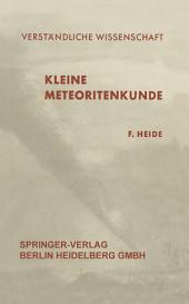 Kleine Meteoritenkunde: Ausgabe 2
