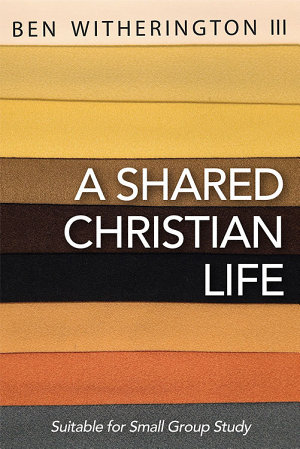 A Shared Christian Life PDF