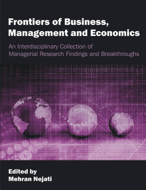 Frontiers of Business  Management and Economics PDF