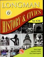 Longman History   Civics Icse 6 PDF