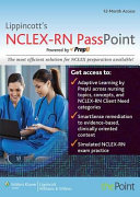 Lippincott S Nclex Rn Passpoint Powered By Prepu Access Code Book PDF