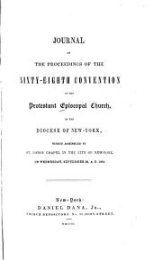 Journal of the Proceedings of the Annual Convention of the Protestant Episcopal Church in [of] the State of New York: Volume 68