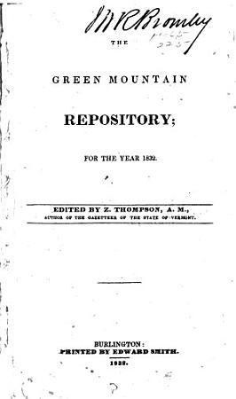 The Green Mountain Repository PDF